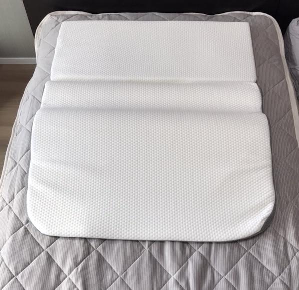 のばした状態の枕