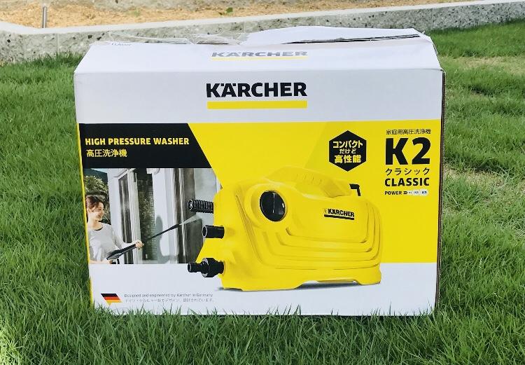 ケルヒャーK2クラシックの箱
