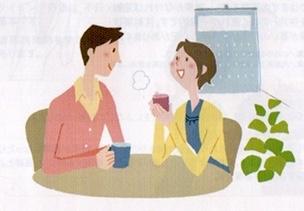 夫婦で話し合う図