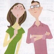 考える夫婦