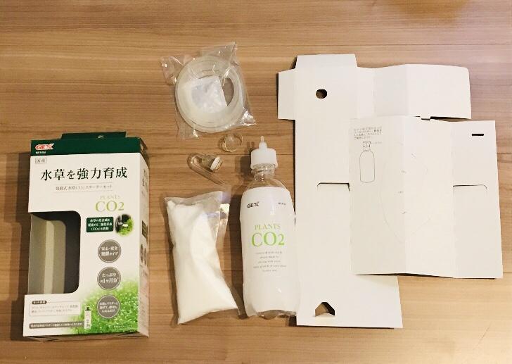 発酵式水草CO₂スターターセット